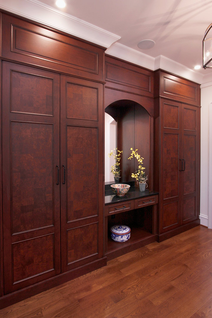 Chapel Hill Traditional Master Bedroom Cabinetry Design and Remodel